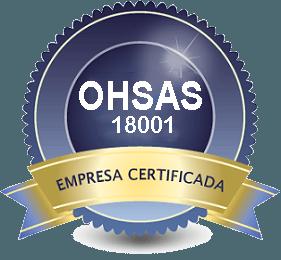 Certificado OHSAS 18001