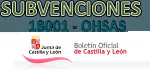 Subvenciones públicas OHSAS 18001