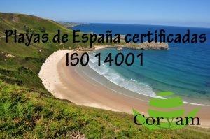Playas con certificación ISO 14001 de España